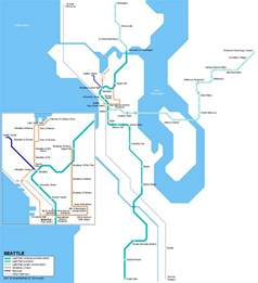 Link Light Rail Seattle Map by Central Link Light Rail Soundtransit 2016 Car Release Date