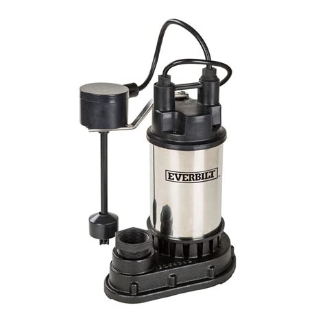 sump pumps wayne 1 2 hp battery backup sump system wss30v the home depot