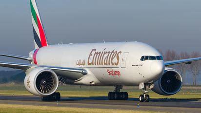 emirates cargo jakarta amsterdam schiphol airport photos airplane pictures net