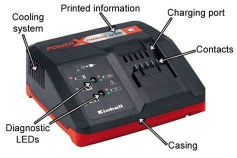 parts of a charger what are the parts of a cordless power tool battery charger