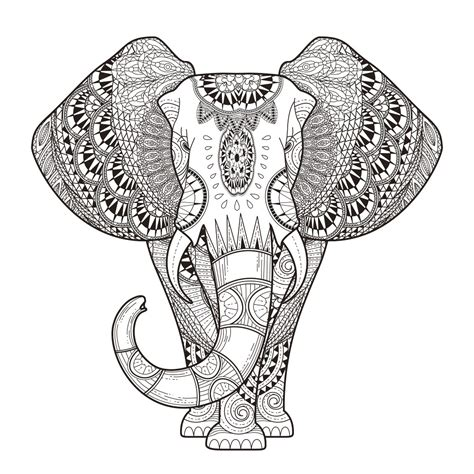 mandala coloring pages for adults animals coloring pages free and printable