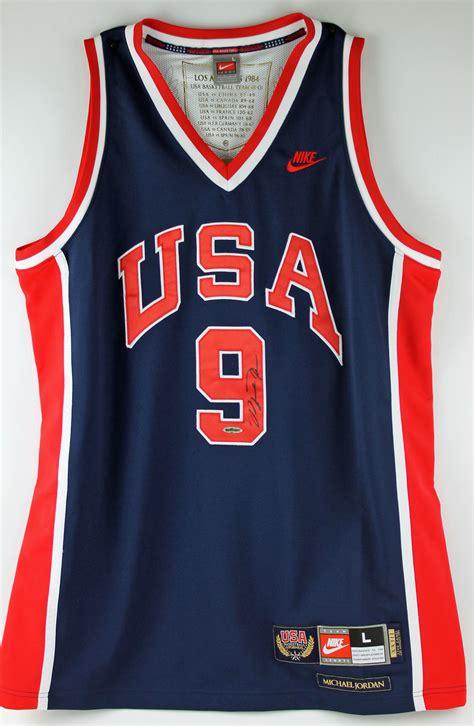Jersey Basket Usa Hitam fancy michael autographed usa basketball jersey bball basketball jersey