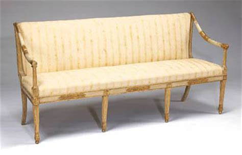 italian settees italian neoclassical parcel gilt and painted settee