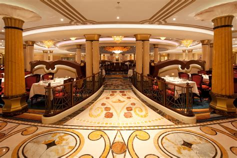the dining rooms disney dream getting ready for guests