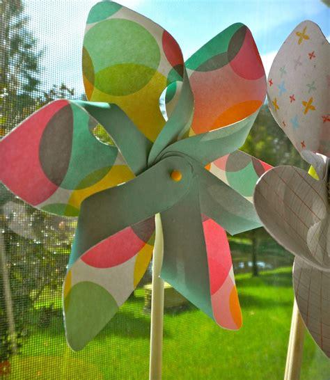 Handmade Pinwheels - cricut pinwheels cartridge cricut