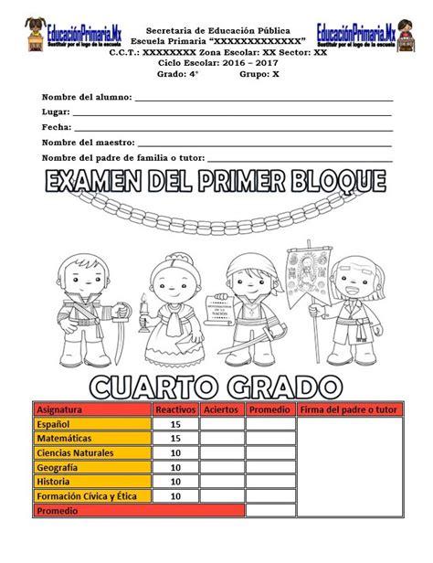 libro de 4 grado matematicas contestado ebookscenterorg examen del cuarto grado para el primer bloque del ciclo