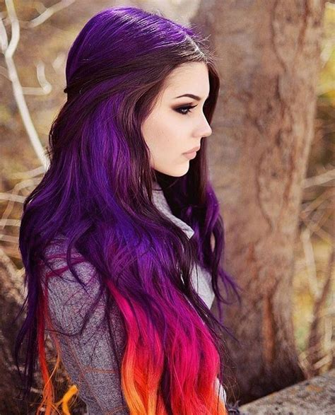 girl hairstyles purple 127 best purple hair images on pinterest colourful hair