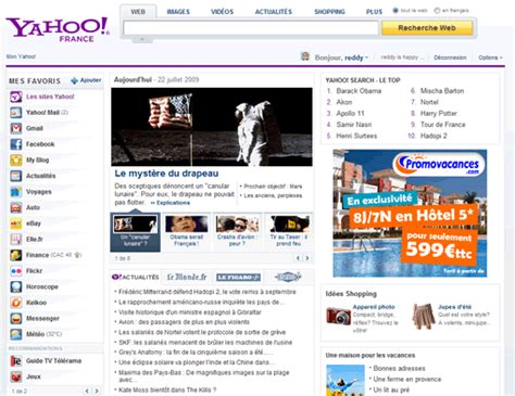 yahoo new home page launching allows customization