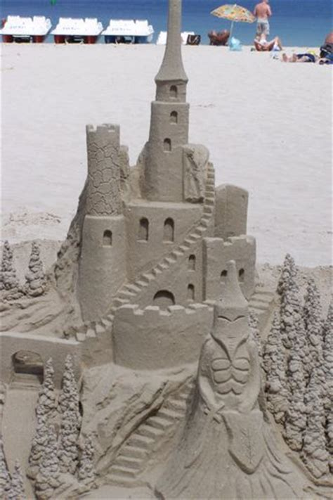 A Castle Of Sand the chagne social list sandcastles in the sun