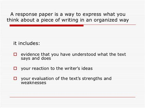 how to write a essay response writing tips for