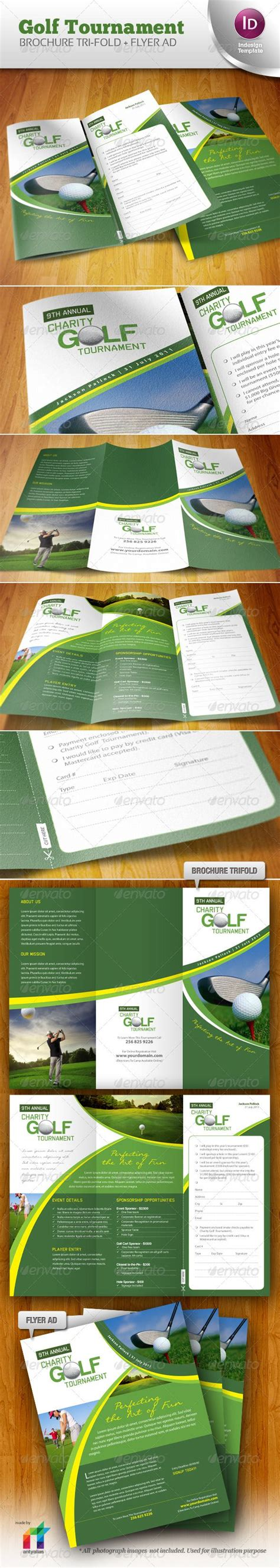 golf tournament brochure golf tournament brochure trifold flyer ad brochures