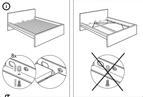 ikea bed instructions bedroom do i need a box spring for my bed home
