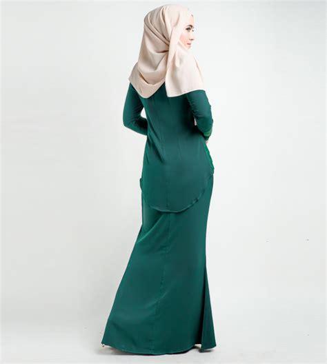 Baju Sedondon Emerald Green emerald green baju kurung hairstylegalleries
