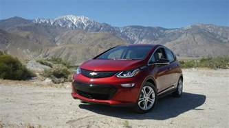 2017 chevrolet bolt ev earns another award gm authority