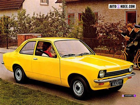 1973 Opel Kadett Photos Informations Articles