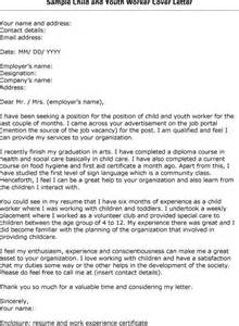 Youth Leader Cover Letter by Christian Social Worker Resume Sales Worker Lewesmr