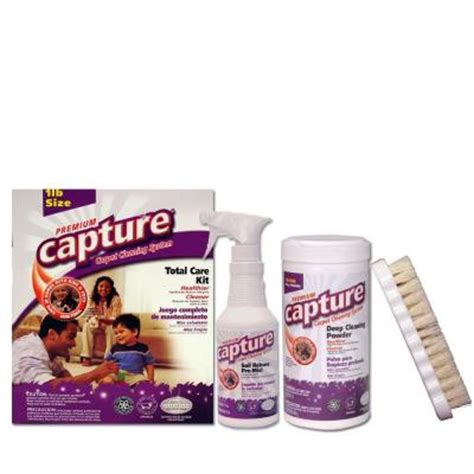 capture 1 lb carpet and upholstery cleaner kit 6 pack