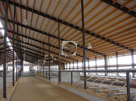 agricultural fans for barns small scale dairy calf and cattle housing center for