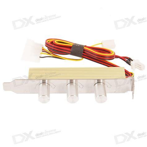 variable speed radiator fan controller 3 fan fan variable speed controller for pc free