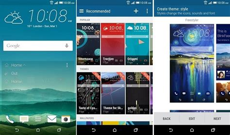 htc blinkfeed rebranded to sense home include htc themes