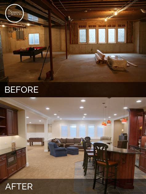 basement remodel before and after steve elaine s basement before after basement
