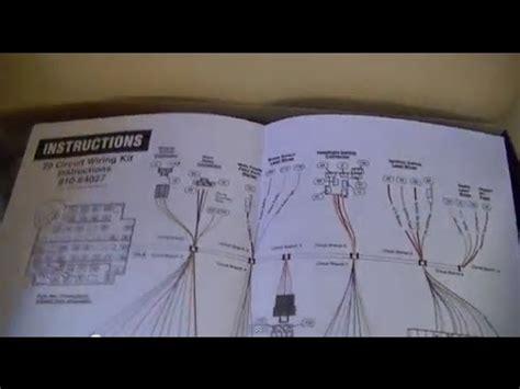 part   wiring repair universal wiring harness youtube