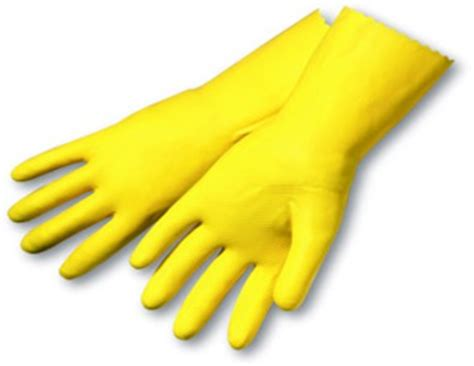 Kitchen Gloves by Childcare Supply Company Inc Yellow Utility Kitchen Gloves