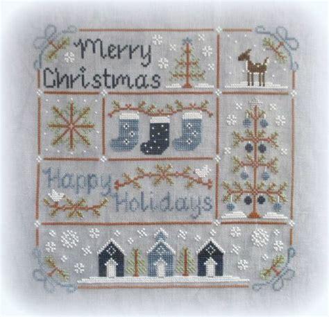 vintage christmas de country cottage needleworks punto