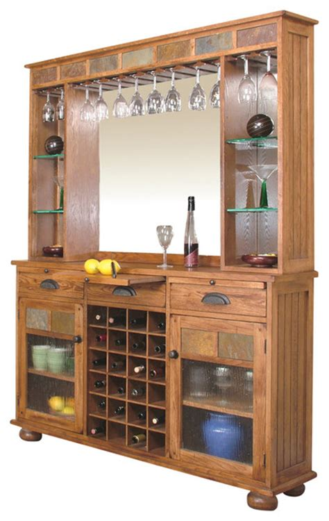 wine servers and bar cabinets sedona server and back bar craftsman wine and bar
