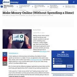 Make Money Online Without Spending Money - make money online ody12 pearltrees