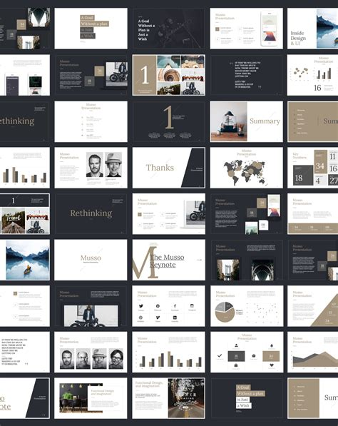 layout design of ppt musso presentation keynote powerpoint google slides