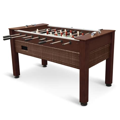outdoor foosball table outdoor foosball table wicker