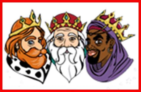 imagenes de los reyes magos con nombres reyes magos nombres imagui