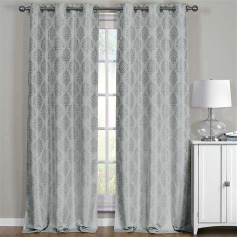 blackout curtains pair paisley curtain panels thermal blackout grommet curtains