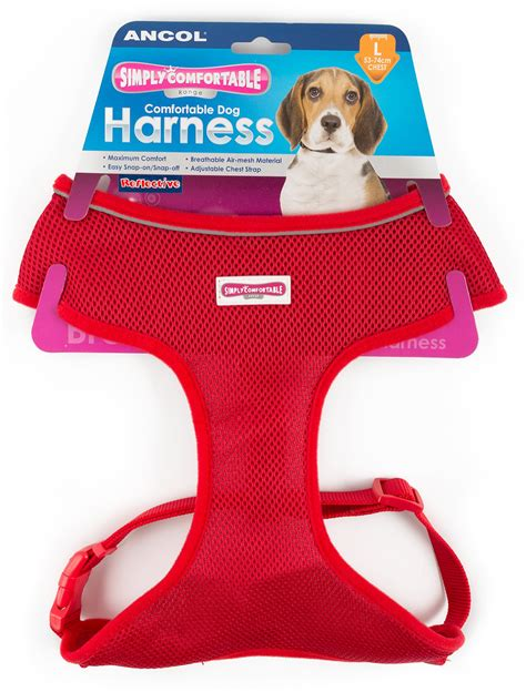 Simply Comfortable Harness by Ancol Simply Comfortable Mesh Harness Large At