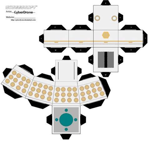 Dalek Papercraft - cubee dalek emperor by cyberdrone on deviantart