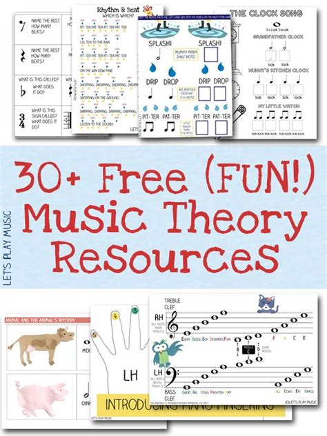 free music for babies free resources free sheet music and theory printables