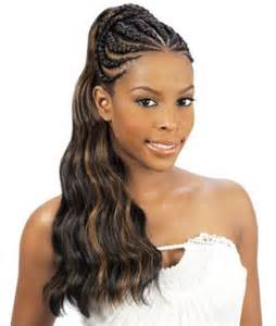 womens hairstyle covers half of 10 stunning half braided hairstyles for black women