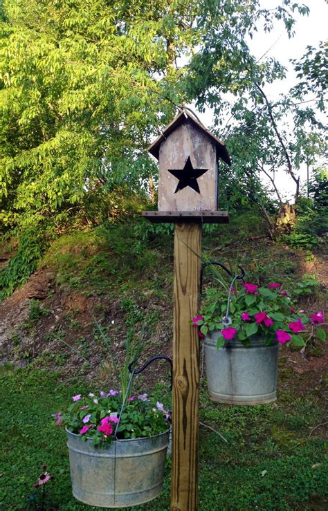 Birdhouse Planters by Bird Feeder Planter Woodworking Projects Plans