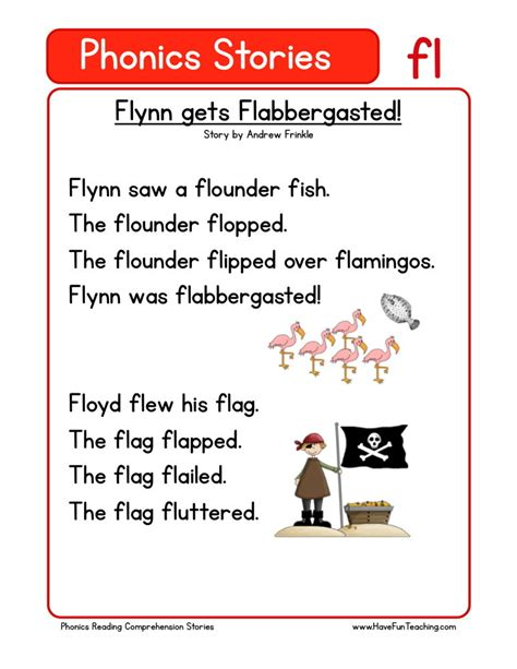reading comprehension worksheet flynn  flabbergasted