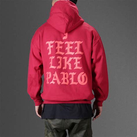 Hoodie Papblo Pablo i feel like ye pablo hoodie wehustle menswear