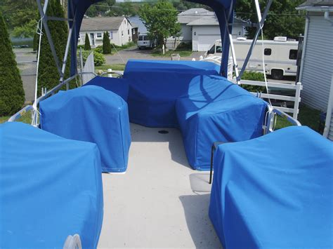 fitted back to back boat seat covers custom marine canvas in connecticut boat photos and