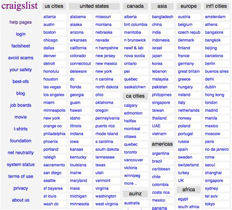 craigslist com friday favorites craigslist the blog