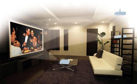 home cinema and home cinema projector on