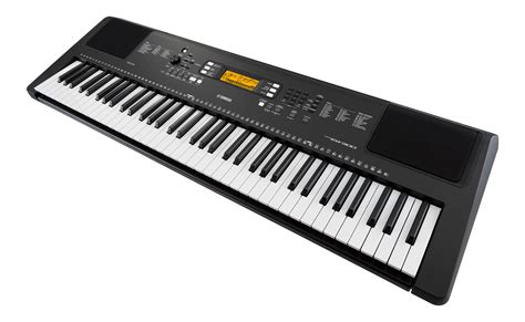 Keyboard Yamaha yamaha psr ew300 76 key portable keyboard in black