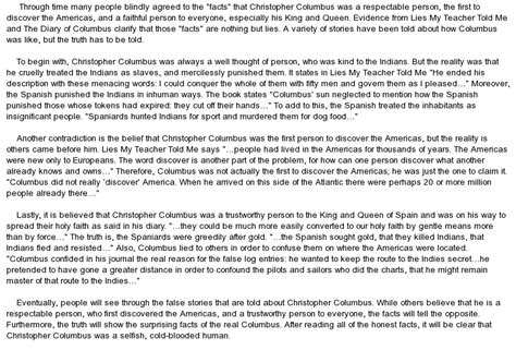 christopher columbus biography essay free christopher columbus at essaypedia com