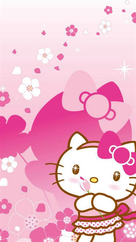 wallpaper hello kitty iphone 6 plus iphone hello kitty wallpapers group 56