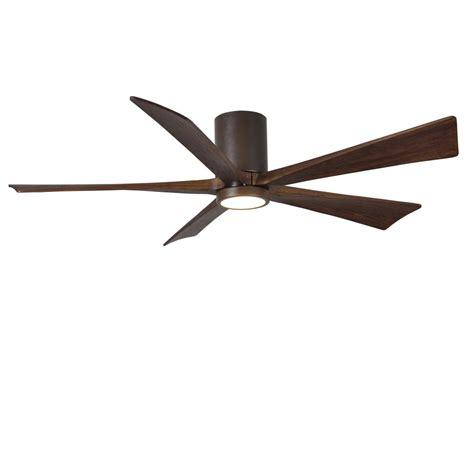 high tech ceiling fan radionic hi tech rylie 52 in 5 blade textured bronze