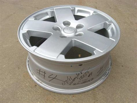 factory jeep wrangler wheels purchase jeep wrangler factory 18 quot aluminum alloy wheel