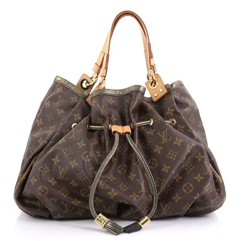 louis vuitton irene handbag limited edition monogram brown